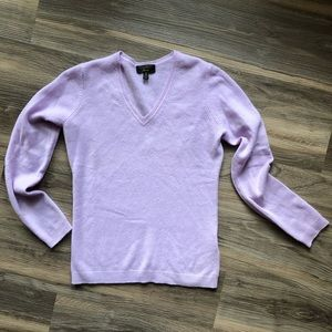 Lilac Cashmere Sweater Charter Club Luxury
